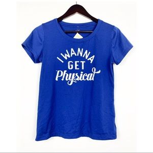 Under armour I wanna get physical t shirt small